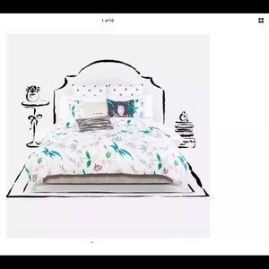 Kate Spade Trellis BloomsComforter& 2 Euro Shams